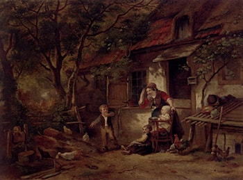 The Farmyard Thief by Herman Frederik Carel ten Kate