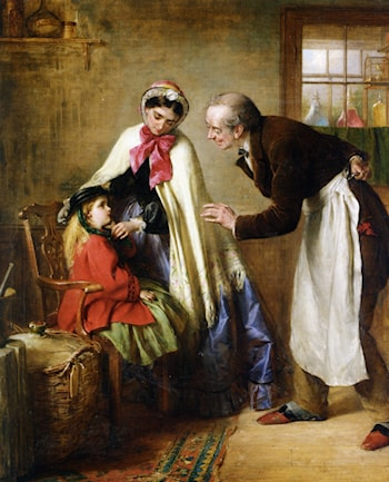 A First Visit to the Dentist by Edward Hughes