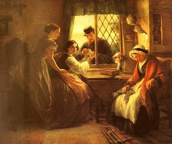 The Secret Letter by Edward Hughes