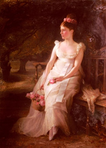The Debutante by Edward Hughes