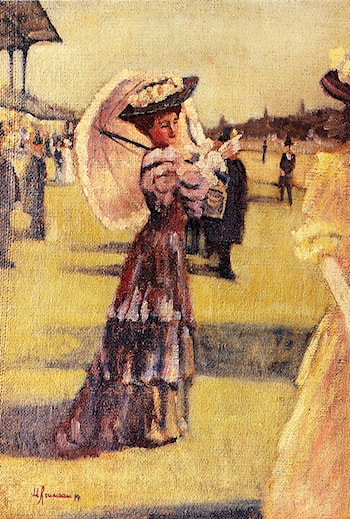 At The Races by Marguerite Rousseau