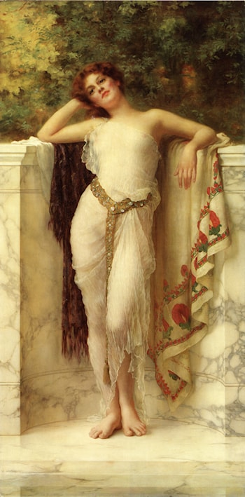 A Classical Beauty by William Clarke Wontner