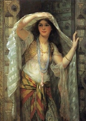Lady of Baghdad by William Clarke Wontner