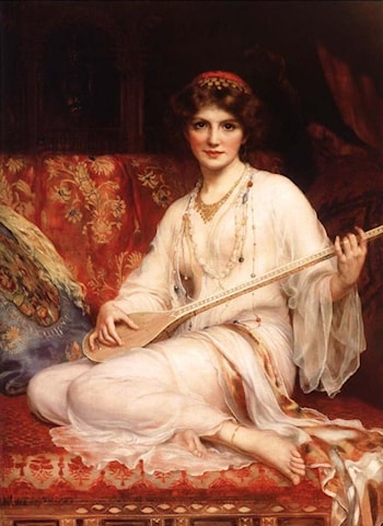 The Odalisque by William Clarke Wontner
