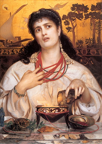 Medea by Anthony Frederick Sandys