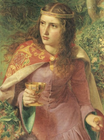 Queen Eleanor by Anthony Frederick Sandys