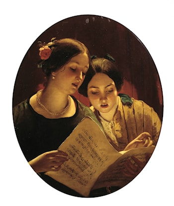 The Duet by James Sant