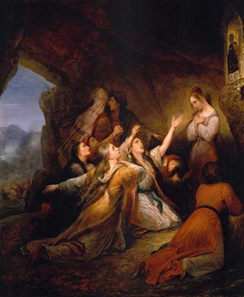 Greek Women Imploring for Assistance by Ary Scheffer