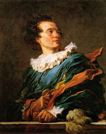 Portrait of a Young Man by Jean-Honore Fragonard