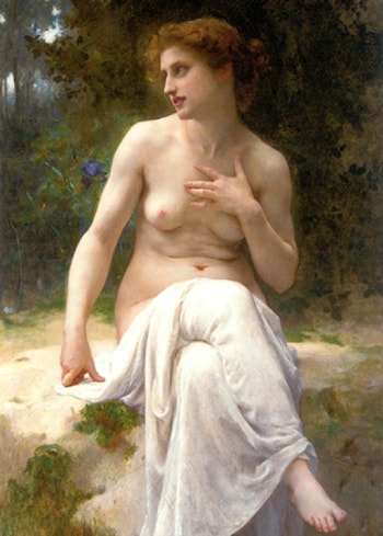 Nymphe by Guillaume Seignac