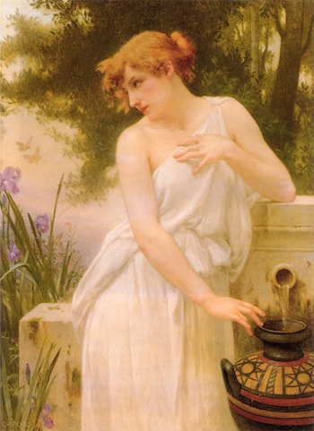 Beauty At The Well by Guillaume Seignac
