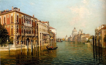 The Grand Canal Venice by Bernard Hay