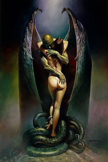 Vampire's Kiss by Boris Vallejo