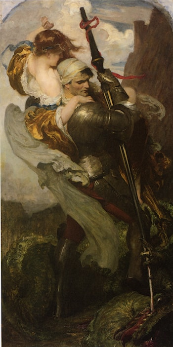 St. George by Solomon Joseph Solomon