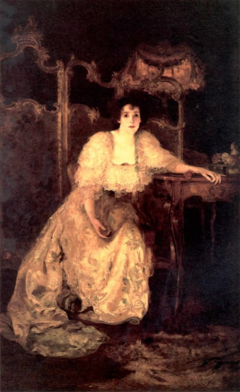 Portrait of a Lady by Solomon Joseph Solomon