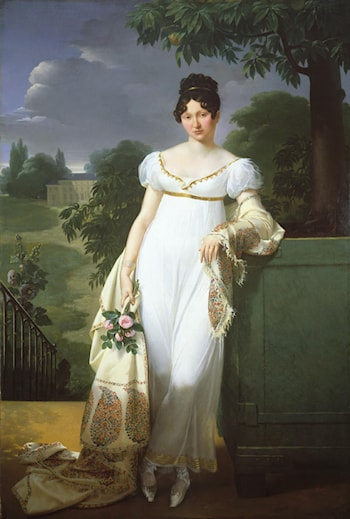 Felicite Louise Julie Constance de Durfort by Merry Joseph Blondel