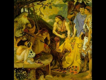 The Coat of Many Colors by Ford Madox Brown