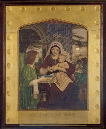 Our Lady of Good Children by Ford Madox Brown