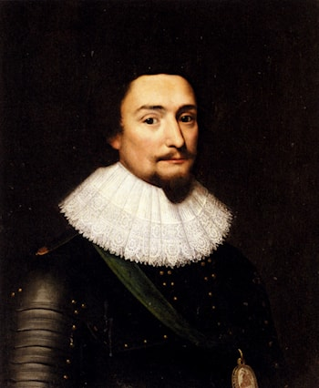 Portrait Of Frederick V Elector Palatine And King Of Bohemia by Michiel Jansz. van Miereveld
