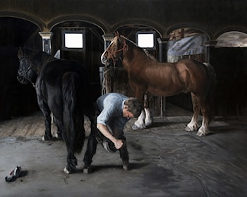 The Farrier Hears the Call of the Sea by Clark Gussin