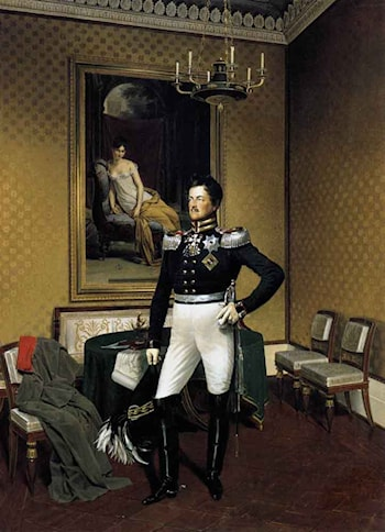 Prince Augustus of Prussia by Franz Kruger