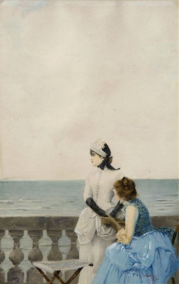 Tell Me All by Vittorio Matteo Corcos