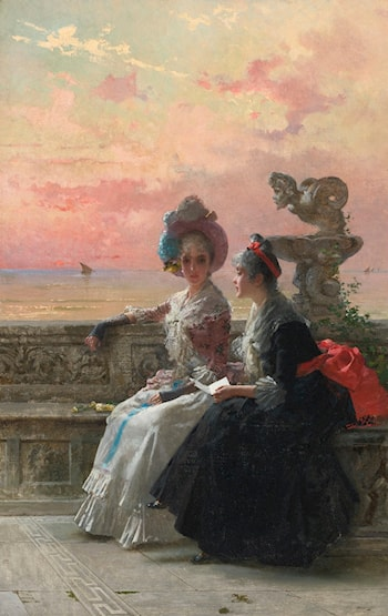 A Shared Secret by Vittorio Matteo Corcos