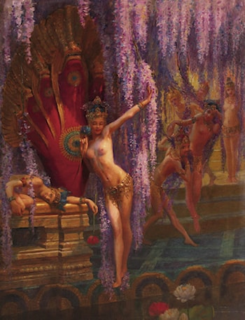 Exotic Dancers by Gaston Bussiere