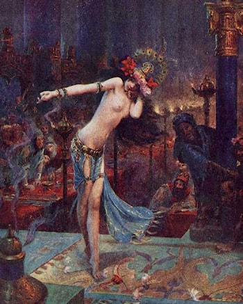 Salomé by Gaston Bussiere