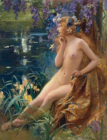 Juventa by Gaston Bussiere