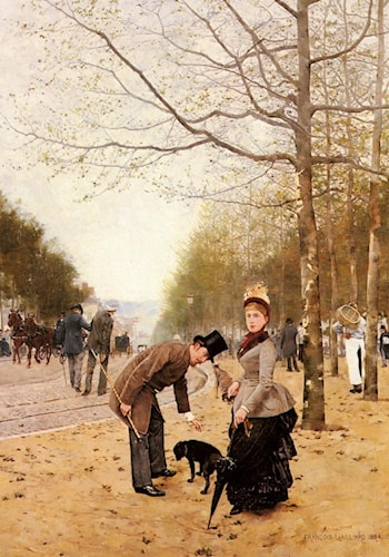 Sunday in the Park by Francois Gaillard