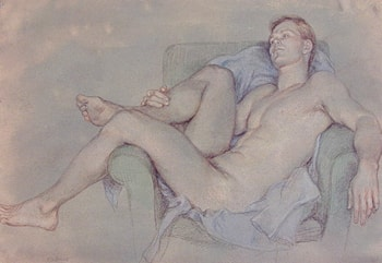 Male Nude no. 12 by Paul Cadmus