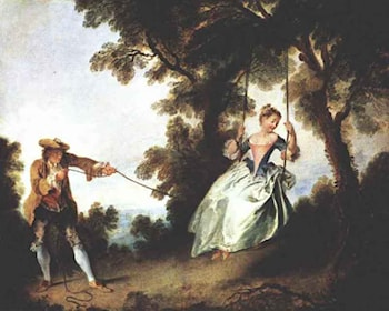 The Swing by Nicolas Lancret