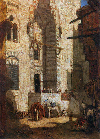 Mosque at Cairo by Marius Bauer