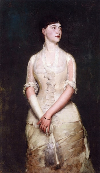 Portrait of Miss Blood by Frank Duveneck
