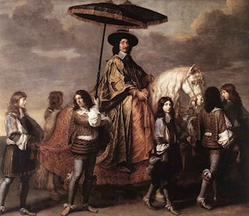 Chancellor Séguier at the Entry of Louis XIV into Paris in 1660 by Charles Le Brun