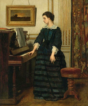 The Abscence by Alfred Stevens