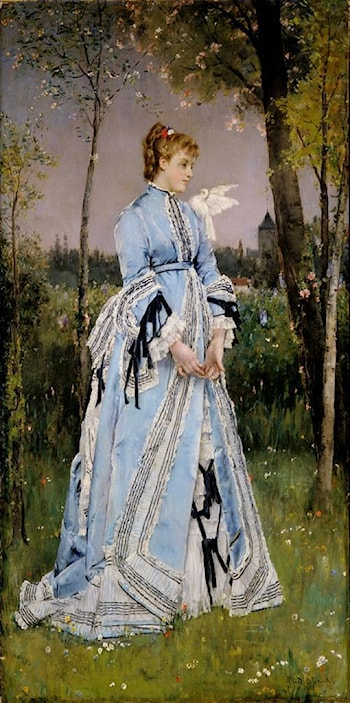 Spring by Alfred Stevens