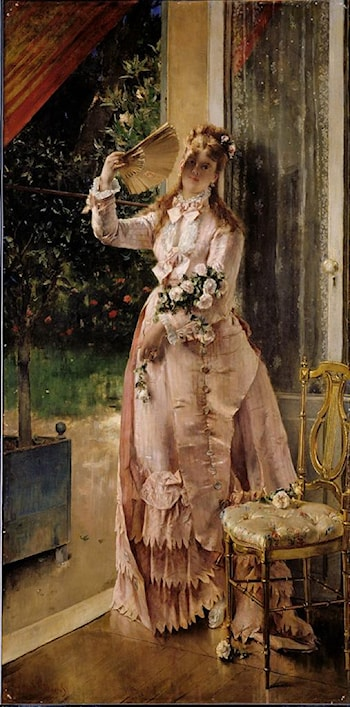 Summer by Alfred Stevens