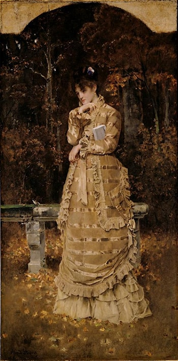 Autumn by Alfred Stevens
