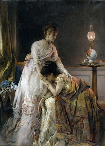 After the Ball by Alfred Stevens