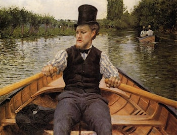 Boating Party by Gustave Caillebotte