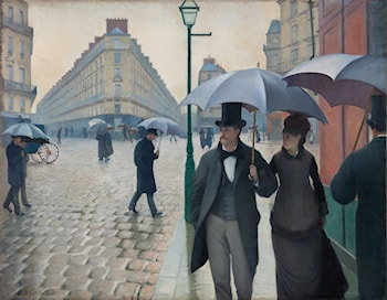 Paris Street by Gustave Caillebotte