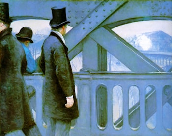 On the Europe Bridge by Gustave Caillebotte
