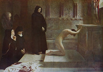 St Elizabeth of Hungary's Great Act of Renunciation by Philip Hermogenes Calderon