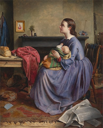 """Lord, Thy Will Be Done"" by Philip Hermogenes Calderon"