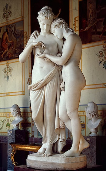 Cupid and Psyche by Antonio Canova