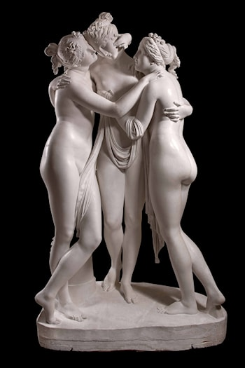The Three Graces by Antonio Canova