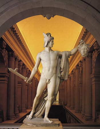 Perseus with the Head of Medusa by Antonio Canova