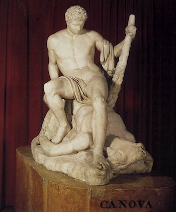 Theseus and the Minotaur by Antonio Canova